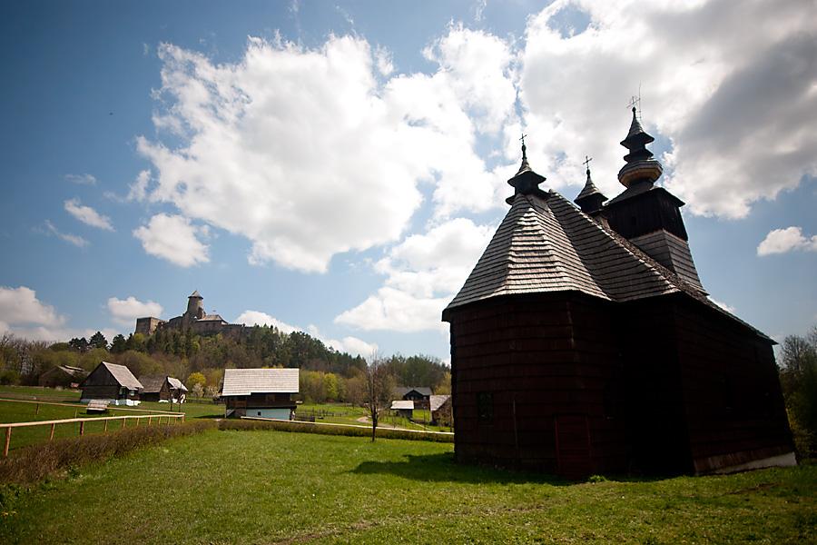 Znalezione obrazy dla zapytania cerkiew ze skansenu w starej lubowni