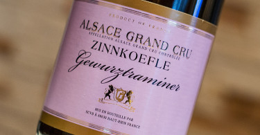Alsace Grand Cru Zinnkoepfle Gewurztraminer