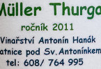 Antonin Hanak Muller Thurgau