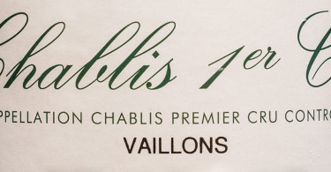 Domaine William Nahan Chablis 1er Cru Vaillons
