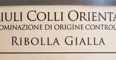Ronchi San Giuseppe Ribolla Gialla