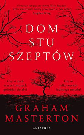 "Graham Masterton ""Dom stu szeptów"""