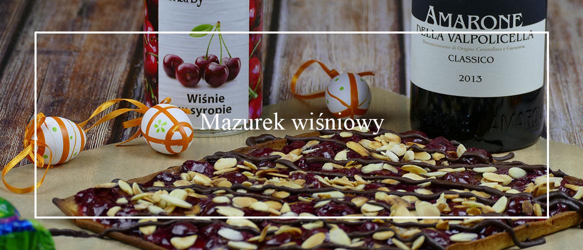 Mazurek wiśniowy