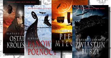 """Bernard Cornwell - cykl """"Opowieści Wikingów"""""""