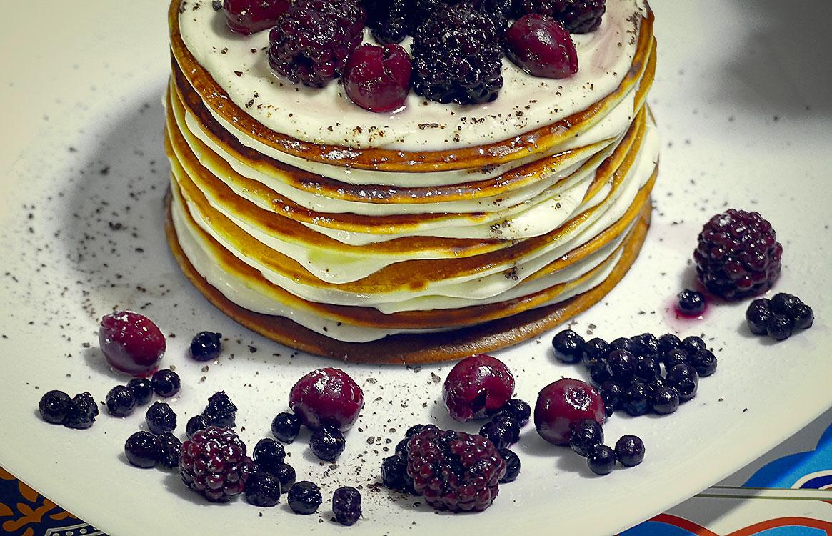 Torcik z pancaków