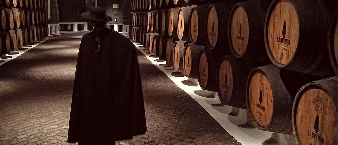 Sandeman Port Wine Cellar