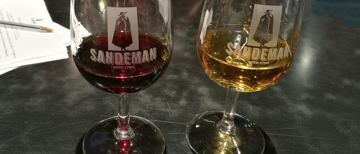 Sandeman Port wine tasting